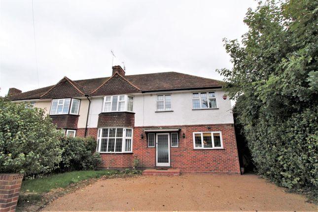 Thumbnail Semi-detached house to rent in Cranborne Road, Hatfield