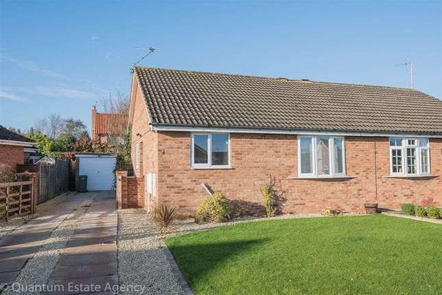 Thumbnail Semi-detached bungalow to rent in Reygate Grove, Copmanthorpe, York