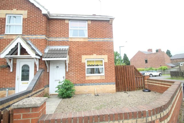 Thumbnail Semi-detached house for sale in High Street, Howden Le Wear, Crook