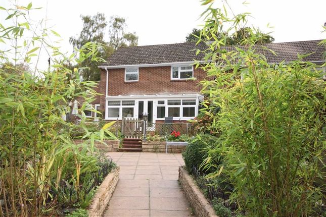 Thumbnail End terrace house for sale in Moors Close, Hurn, Christchurch, Dorset