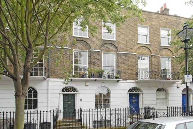 Thumbnail Terraced house to rent in Cloudesley Square, Barnsbury, Islington, London