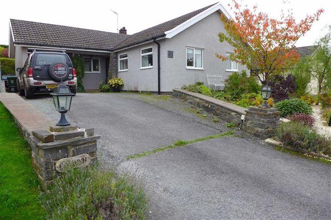 Thumbnail Bungalow for sale in Pwllswyddog, Tregaron, Ceredigion