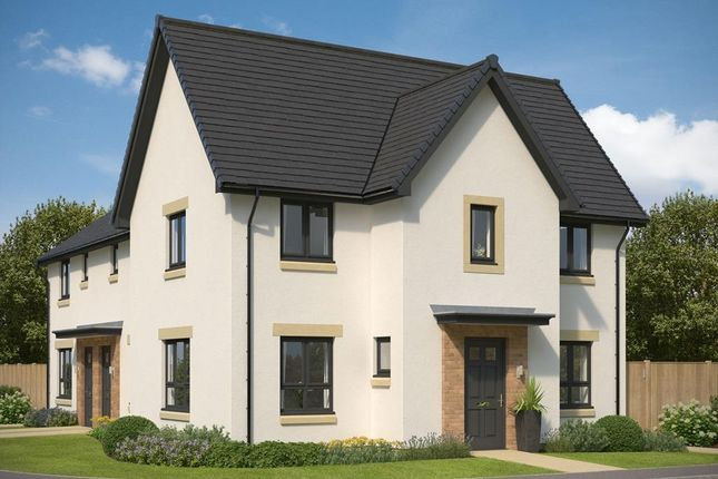 """Thumbnail End terrace house for sale in """"Abergeldie"""" at Gilmerton Station Road, Edinburgh"""