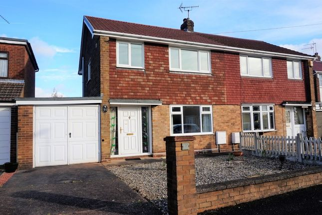 Thumbnail Semi-detached house for sale in Lilac Grove, Glapwell, Chesterfield