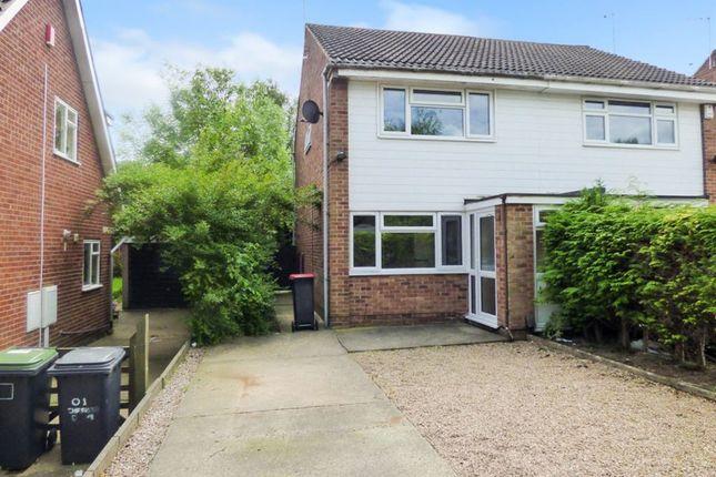 Thumbnail Semi-detached house to rent in Chesham Drive, Bramcote, Nottingham