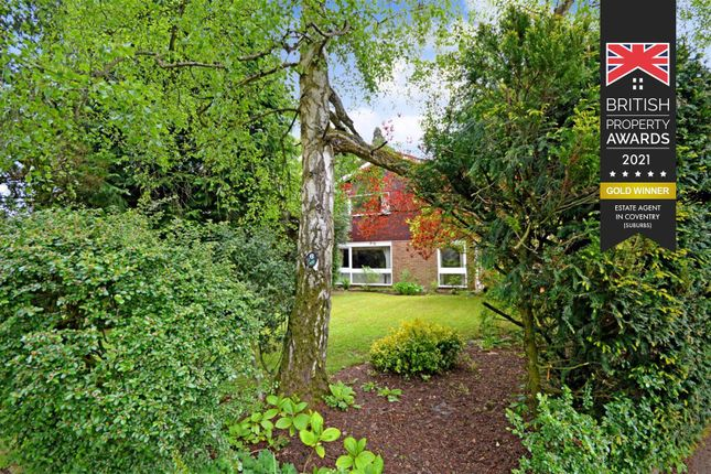 Thumbnail Detached house for sale in Broadwater, Earlsdon, Coventry