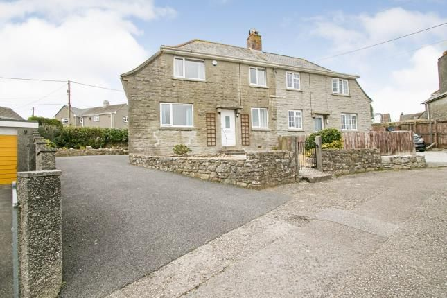 Thumbnail Semi-detached house for sale in Mabe Burnthouse, Penryn, Cornwall