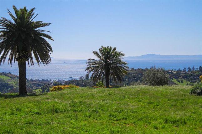 Thumbnail Land for sale in Santa Barbara, California, United States Of America