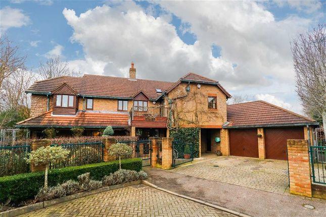Thumbnail Detached house for sale in Ketelbey Nook, Old Farm Park, Milton Keynes, Bucks