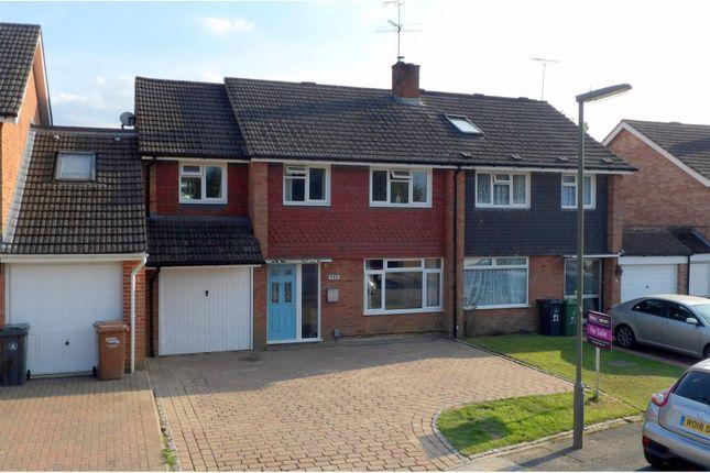 Thumbnail Semi-detached house for sale in Ambleside Close, Mytchett