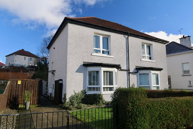 Thumbnail Semi-detached house for sale in Kirkton Avenue, Glasgow