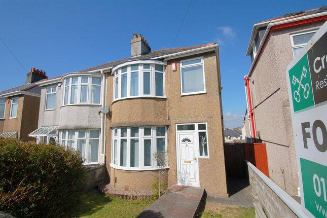 Thumbnail Semi-detached house to rent in Merrivale Road, Beacon Park, Plymouth