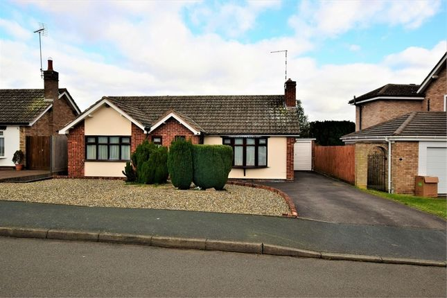 Detached bungalow for sale in Springfield Crescent, Kibworth Beauchamp, Leicester