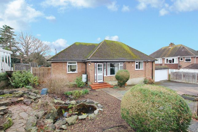 Thumbnail Detached bungalow to rent in Allendale Avenue, Findon Valley, Worthing