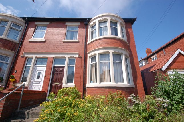 External of Glastonbury Avenue, Marton, Blackpool, Lancashire FY1
