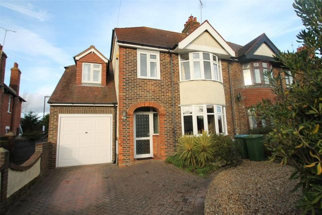Thumbnail Semi-detached house for sale in Cornwall Road, Littlehampton, West Sussex