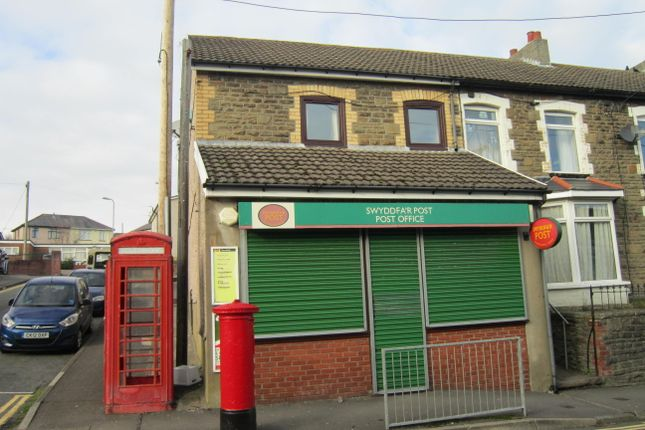 Thumbnail End terrace house for sale in Mcdonnell Road, Bargoed