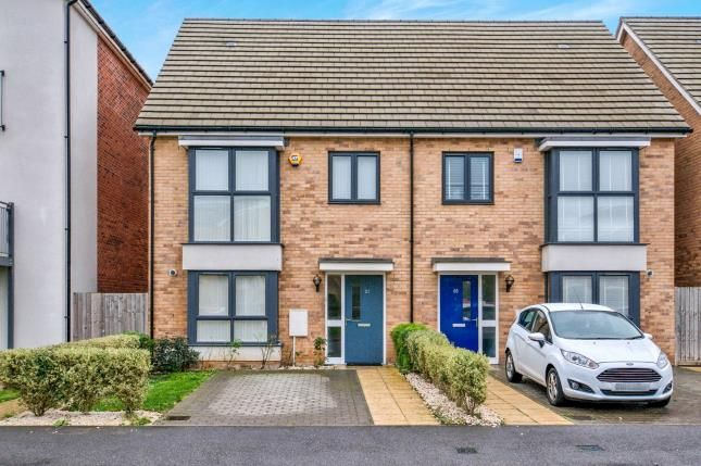 Thumbnail Semi-detached house for sale in Aveley, South Ockendon, Essex