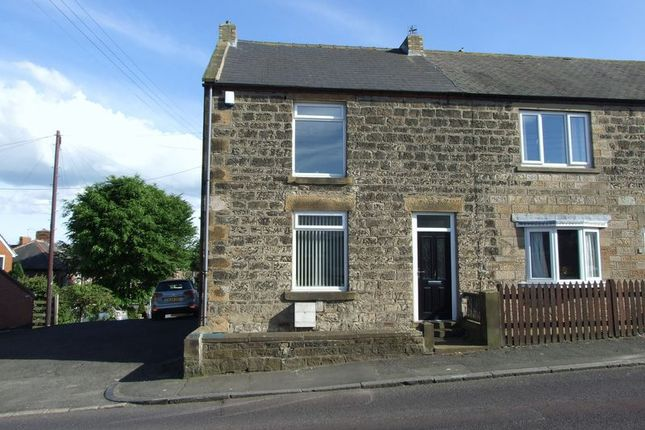 Thumbnail End terrace house to rent in Appleby Place, Ryton