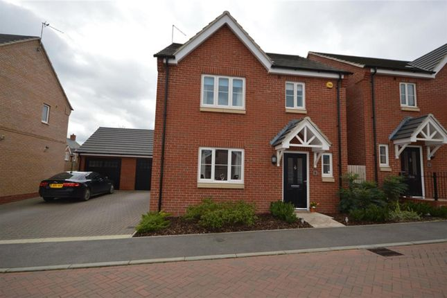 Thumbnail Detached house to rent in Maddock Close, Narborough, Leicester