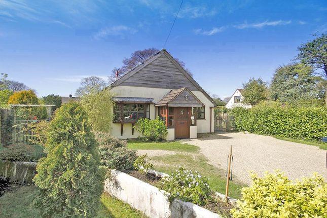 Thumbnail Detached bungalow for sale in School Lane, Bransgore, Christchurch