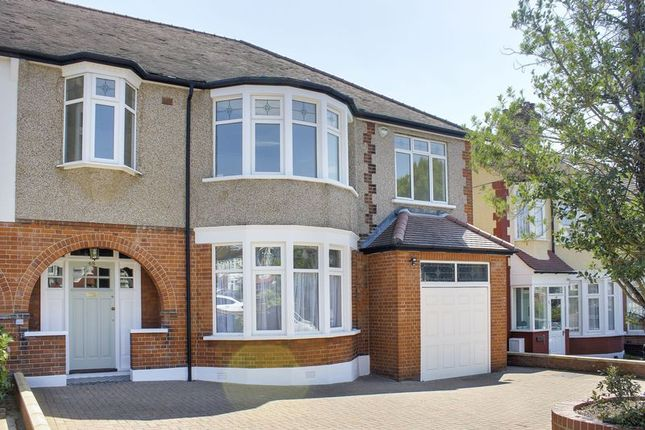 Thumbnail Semi-detached house for sale in Woodland Way, London