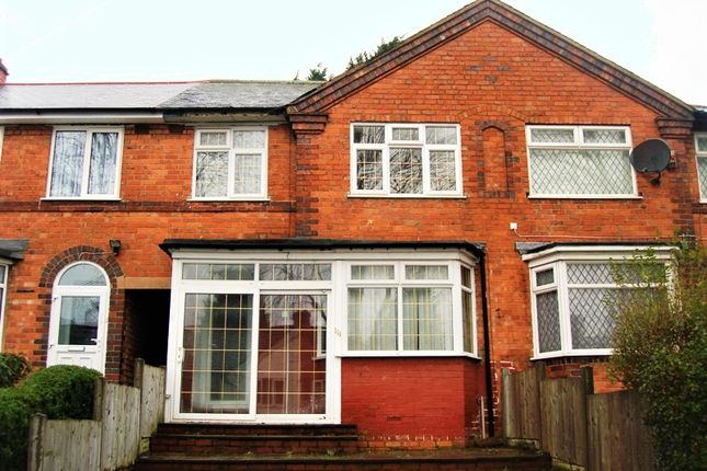 Thumbnail Terraced house to rent in Allcroft Road, Tyseley
