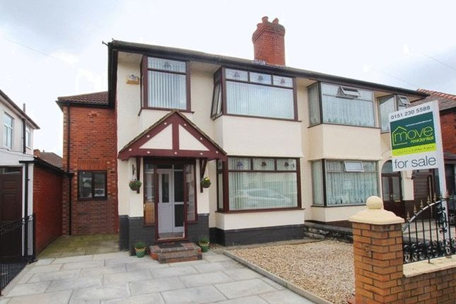 4 bed semi-detached house for sale in Eaton Gardens, West Derby, Liverpool