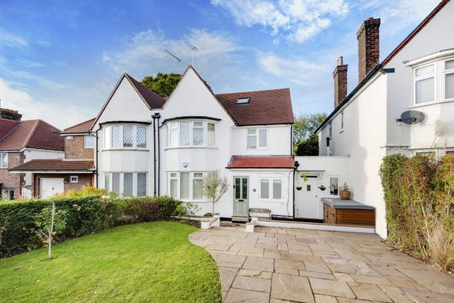 Thumbnail Semi-detached house for sale in Basing Hill, London