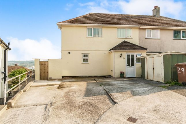 Thumbnail Semi-detached house for sale in Erme Gardens, Plymouth