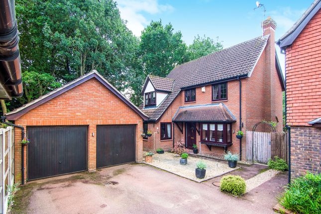 Thumbnail Detached house for sale in Felstead Close, Hutton, Brentwood