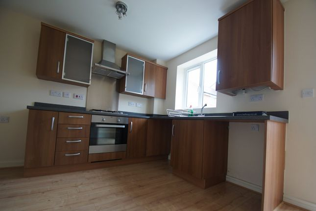 Thumbnail 3 bed end terrace house to rent in Dragoon Road, Stoke