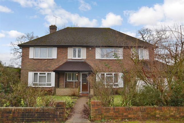 Thumbnail Detached house for sale in Grange Close, Merstham, Surrey