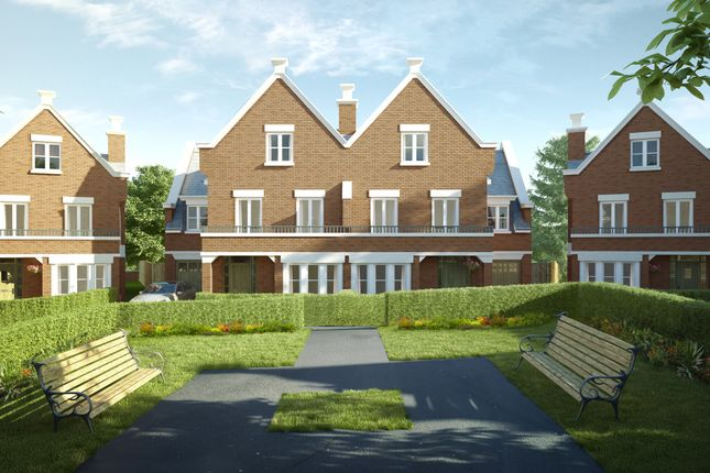 """Thumbnail Town house for sale in """"The Redwood"""" at Butterwick Way, Welwyn"""