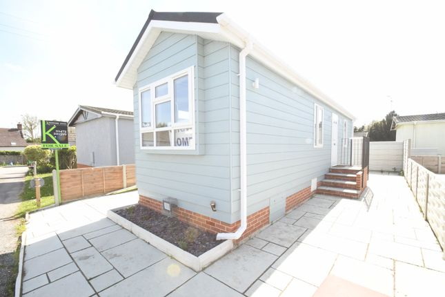 Thumbnail Mobile/park home for sale in Bourne Park Residential Park, Ipswich