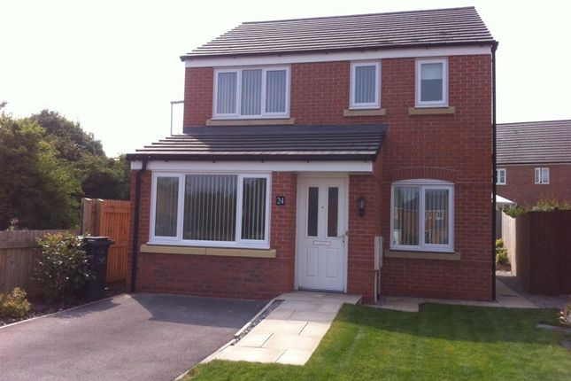 Thumbnail Detached house to rent in Brent Close, Milliners Green, Newcastle-Under-Lyme