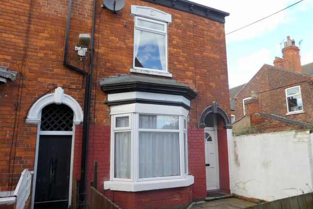 Thumbnail End terrace house to rent in Sherburn Street, Hull