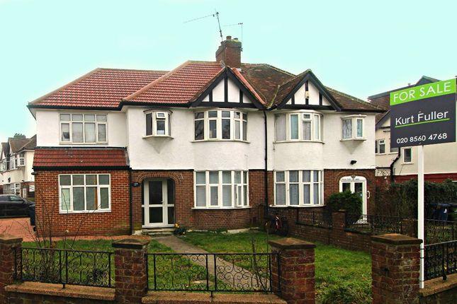 Thumbnail Semi-detached house for sale in Ruislip Road East, London