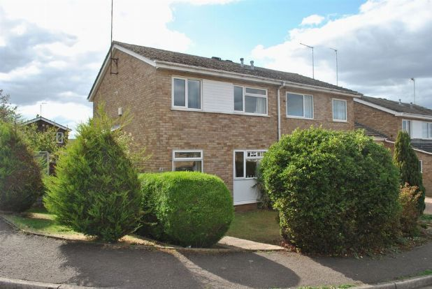 Thumbnail Semi-detached house for sale in Sherwood Avenue, Kingsthorpe, Northampton