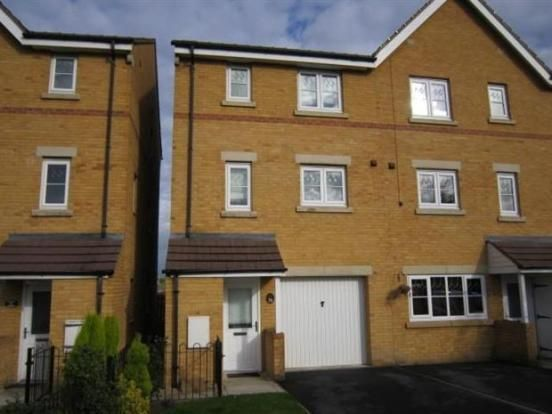 Thumbnail Town house to rent in Bellflower Close, Whitwood, Castleford