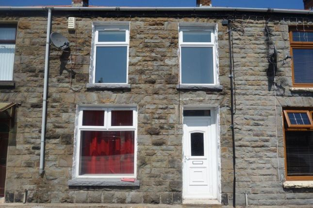 Thumbnail Terraced house to rent in High Street, Treorchy