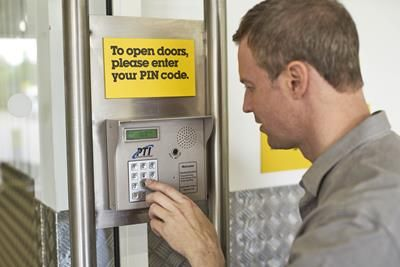 Pin Code Access of Big Yellow Milton Keynes, Snowdon Drive, Winterhill, Milton Keynes MK6