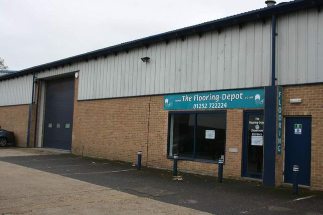 Thumbnail Warehouse to let in 4 Grovebell Estate, Farnham, Surrey