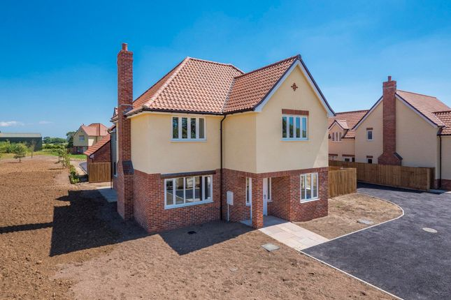 Thumbnail Detached house for sale in Chedburgh, Bury St Edmunds, Suffolk