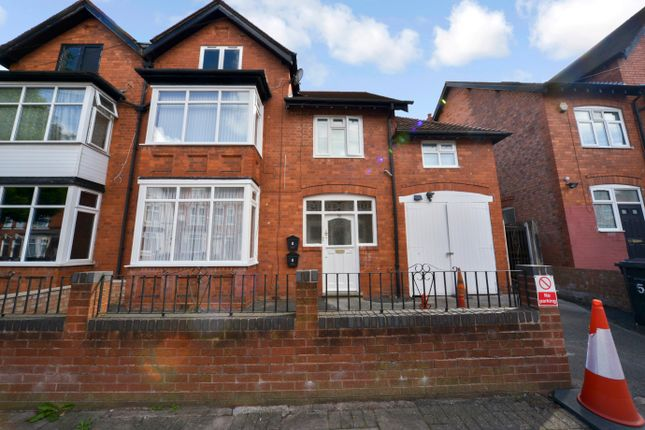 Thumbnail 5 bed semi-detached house for sale in Whitehall Road, Handsworth, Birmingham