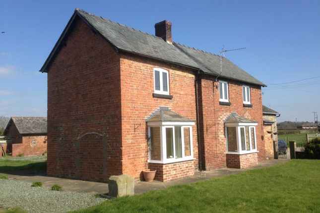 Thumbnail Detached house to rent in Babbinswood, Whittington, Oswestry
