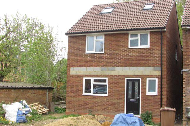 Thumbnail Detached house for sale in Leaves Spring, Stevenage