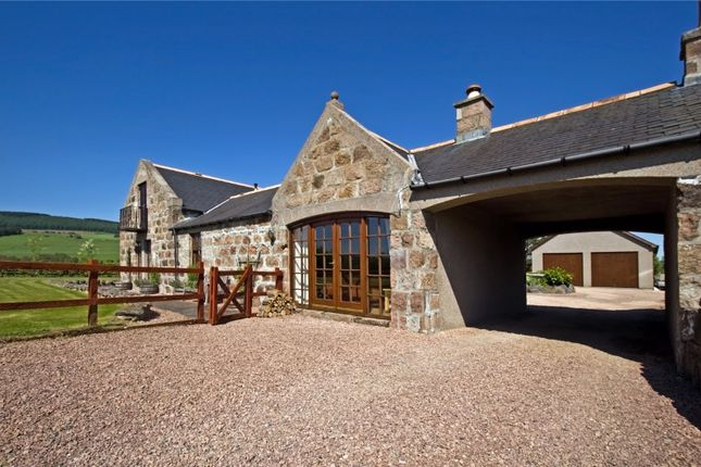 Thumbnail Detached house for sale in Mill Of Haugh, Strachan, Banchory, Kincardineshire