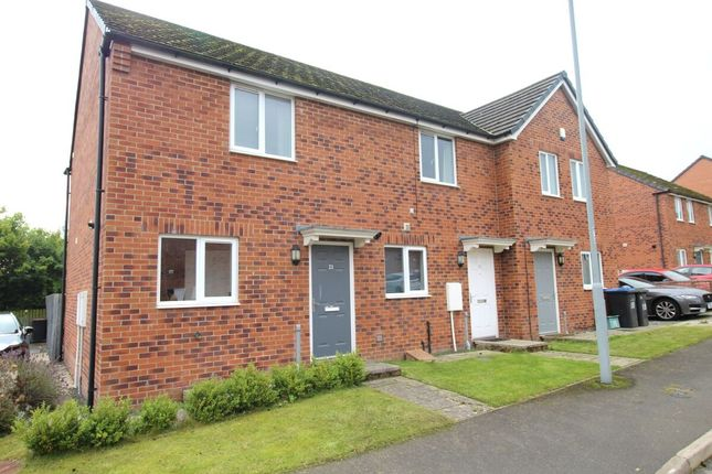 Thumbnail Terraced house to rent in Croft Close, Greencroft, Stanley