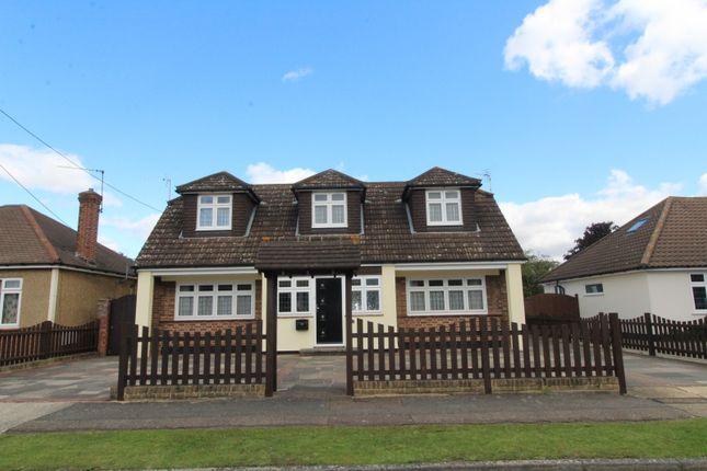 Thumbnail Detached house for sale in Laburnham Gardens, Upminster, Essex